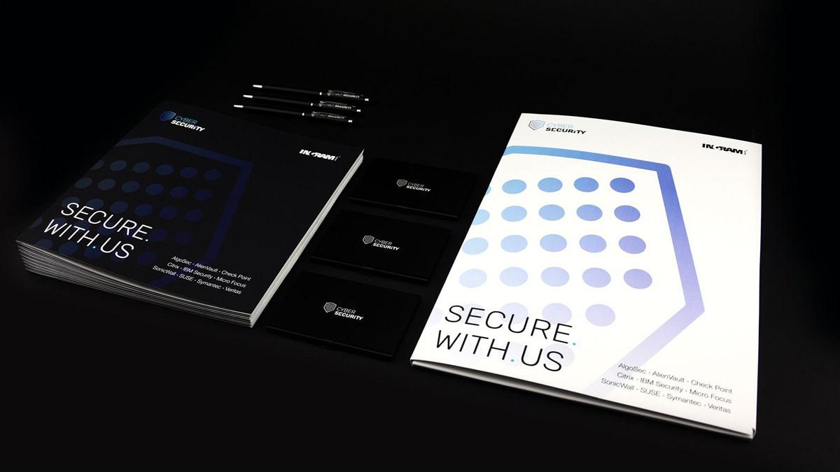 Cyber Security corporate identity design