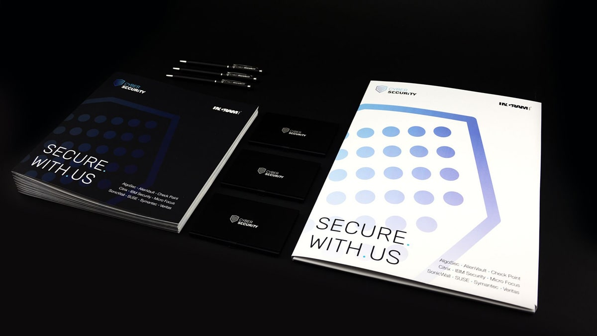 Cyber Security corporate identity design