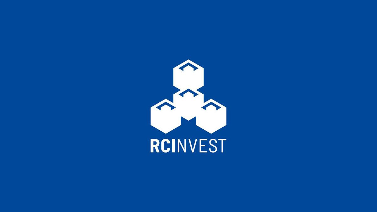 RC Invest logo design