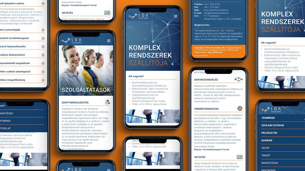 web, programozás, webdesign, reszponzív oldaltervezés
